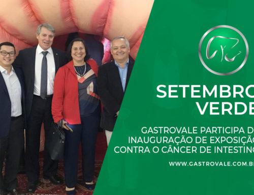 Gastrovale participa de lançamento de programa de rastreamento do câncer de intestino